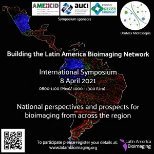 International Symposium for the Construction of the Latin American Bioimaging Network on April 8