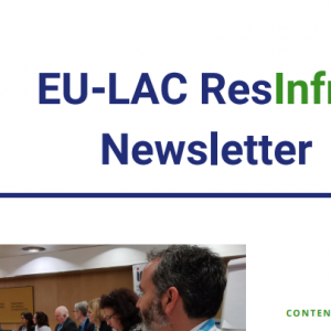 The first newsletter of ResInfra project is now available